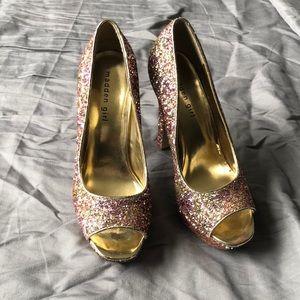 Steven madden sparkle heels